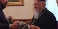 Δώρο… ΠΑΟΚ στον Οικουμενικό Πατριάρχη! (pics)