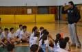 Ο Κώστας Χαραλαμπίδης στο shooting camp του ΠΚ Νεάπολης