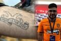 Ένας «τρελός» Αρμένιος ΠΑΟΚτσής με τατουάζ «Εμείς μαζί για μια ζωή!» (pics)