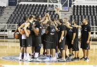 PAOK basketball training report