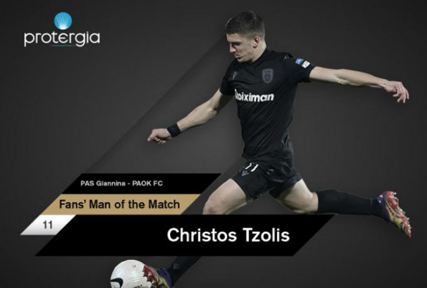 Fans' Man of the Match ο Τζόλης