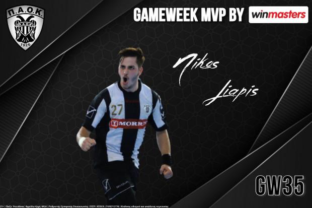 Winmasters MVP ο Νικόλας Λιάπης!
