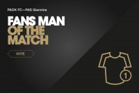 Ψηφίστε τον Fans' Man of the Match