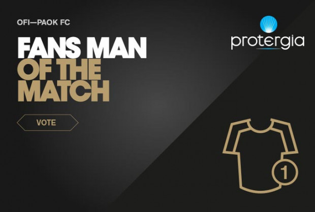 Ψηφίστε τον Protergia Fans' Man of the Match