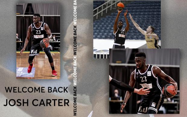 O Josh Carter στον ΠΑΟΚ και τη σεζόν 2021-22