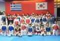 Κοινή προπόνηση για την ομάδα tae kwon do του ΠΑΟΚ