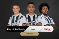 Ψηφίστε το nak Play of the Month Ιουνίου