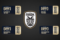 PAOK TV Vs La Liga, Olympic Games, Chelsea, Wimbledon & UFC στα Sports OTT Awards