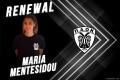 Ανανέωση συνεργασίας με την Μαρία Μεντεσίδου