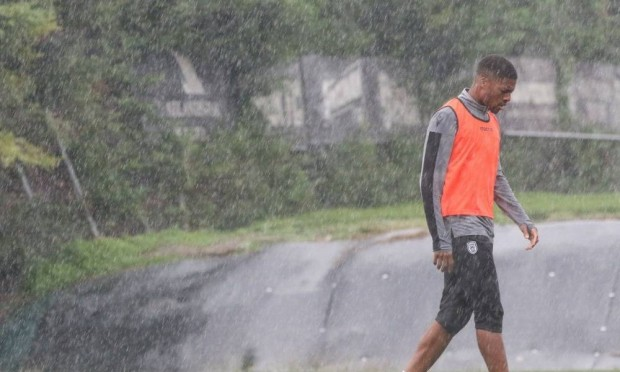 Training in the… rain