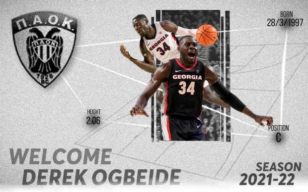Derek Ogbeide ο πρώτος…