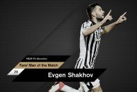 Fans' Man of the Match ο Σάκχοφ