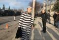 Ντυμένοι «Μαρινάκης» με ριγέ στολές στην Τούμπα! (pic)