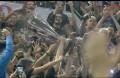 Η έκσταση στην απονομή του ΠΑΟΚ (video)