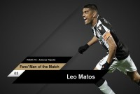 Fans' Man of the Match ο Μάτος